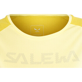 Salewa Pedroc Delta Dry - T-shirt manches courtes Femme - jaune